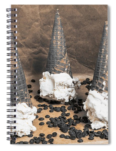 Chip Off The Old Block Spiral Notebook