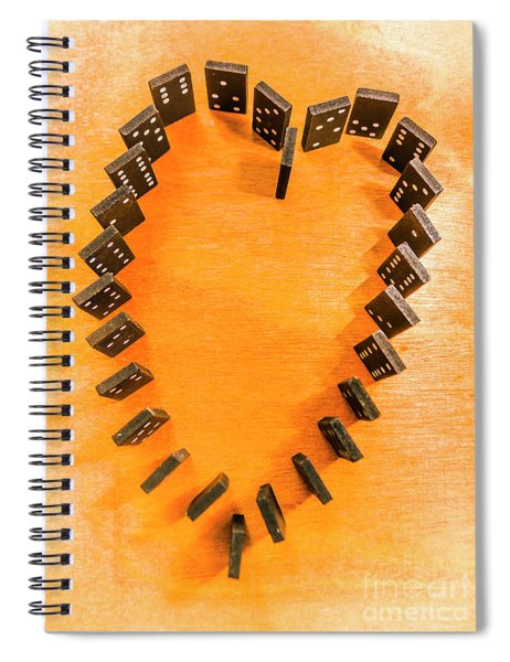 Chips Are Stacked Spiral Notebook