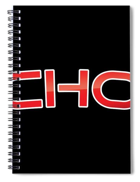 Cho Spiral Notebook