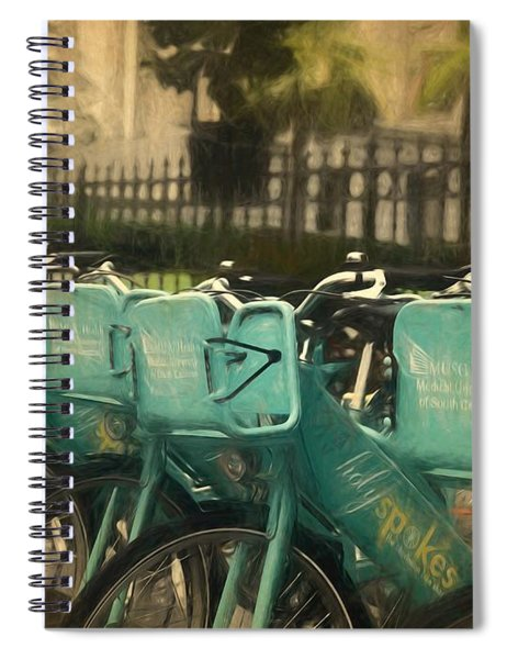 Choose Your Ride Spiral Notebook