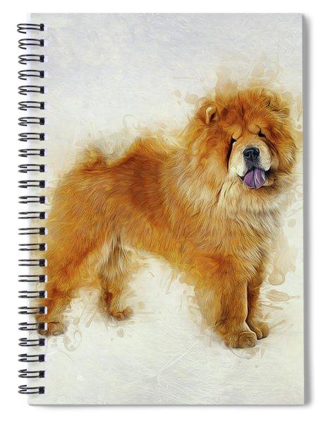 Chow Chow Spiral Notebook