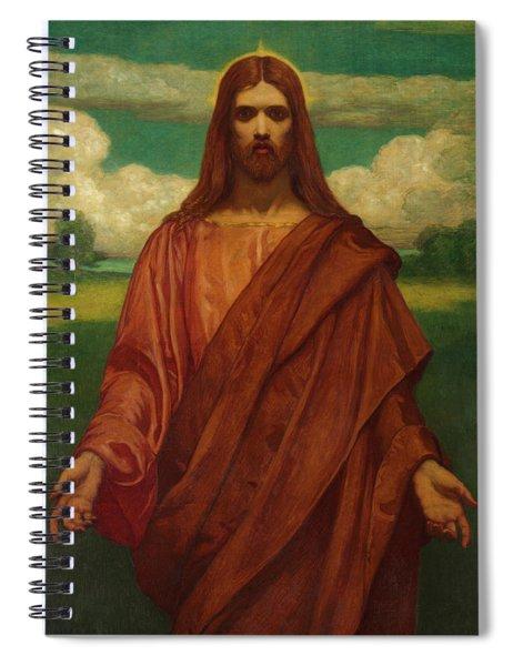 Christ, 1905 Spiral Notebook