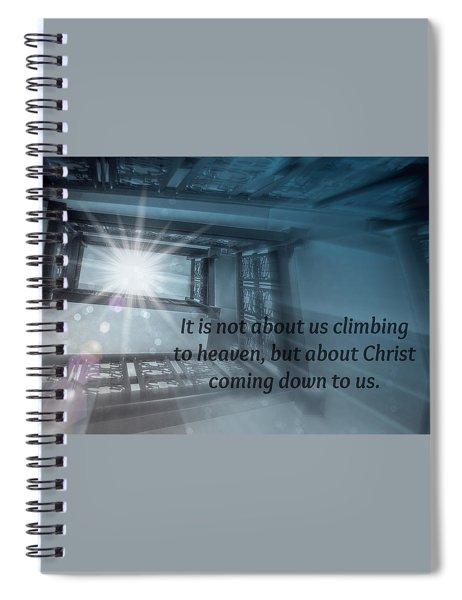 Christ Alone Spiral Notebook
