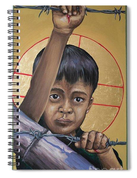Christ The Dreamer - Mrctd Spiral Notebook