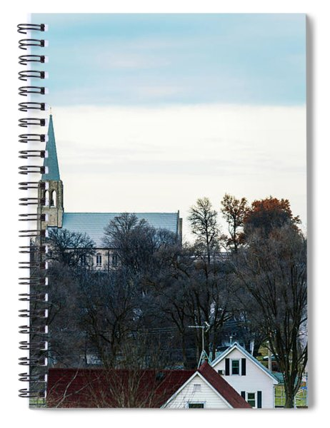 Christmas Day Drive Spiral Notebook