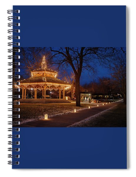 Christmas Eve In Dexter Spiral Notebook