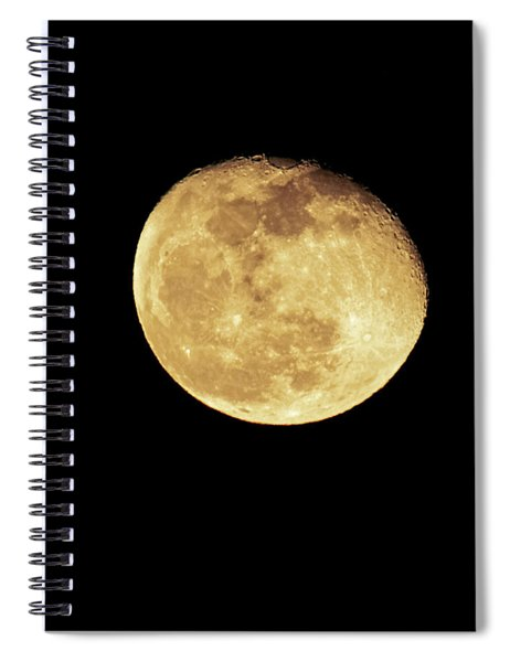 Christmas Eve Moon 2018 Spiral Notebook