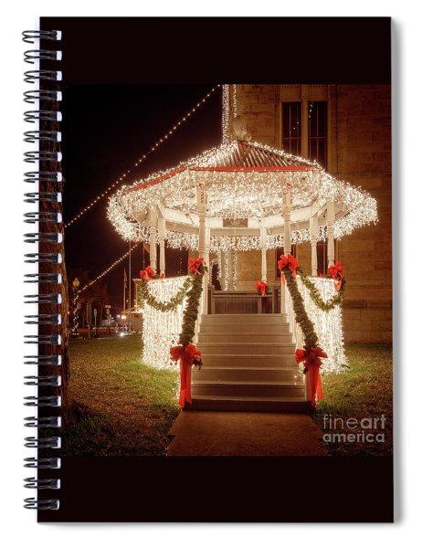 Christmas Gazebo Spiral Notebook