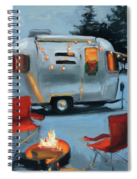 Christmas In The Snow Spiral Notebook