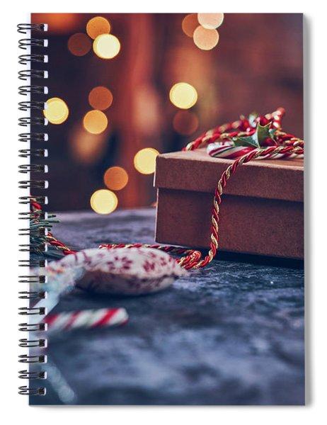 Christmas Pesent Spiral Notebook
