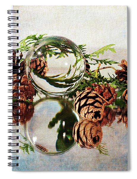 Christmas Thoughts Spiral Notebook