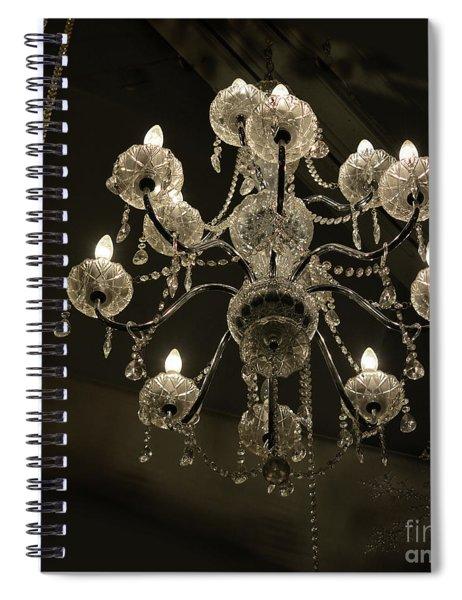 Chrystal Lights Spiral Notebook