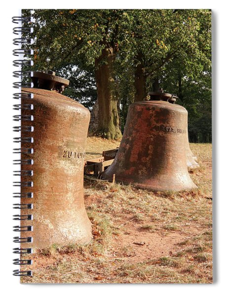 Church Bells Laid In The Landscape Spiral Notebook