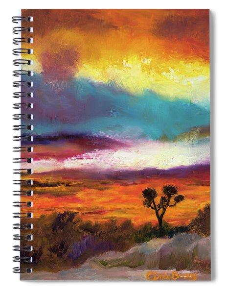 Cindy Beuoy - Arizona Sunset Spiral Notebook