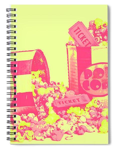 Cine Design Spiral Notebook