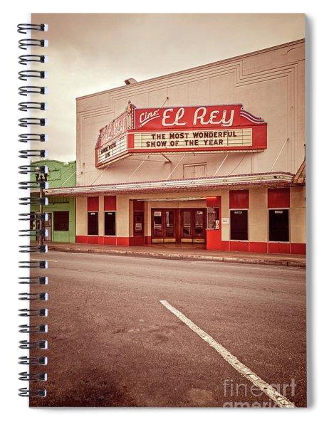 Cine El Rey Theater Spiral Notebook