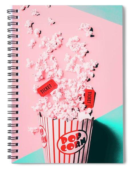 Cinema Pop Spiral Notebook
