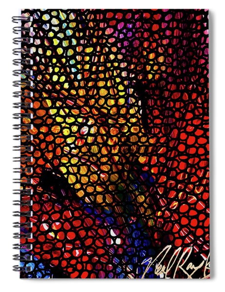 Circle Comb Spiral Notebook