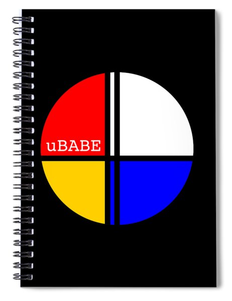 Circle Style Spiral Notebook
