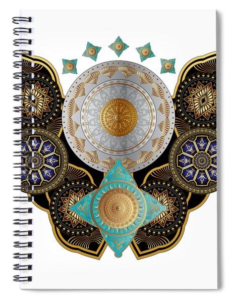 Circumplexical N0 3662 Spiral Notebook