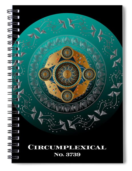 Circumplexical No 3739.1 Spiral Notebook