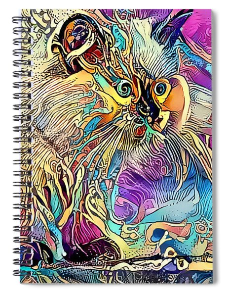 Circus Kitty Spiral Notebook