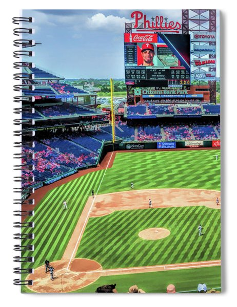 Citizens Bank Park Philadelphia Phillies Baseball Ballpark Stadium Spiral Notebook