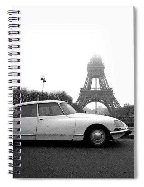 Citroen Spiral Notebook