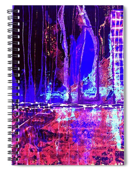 City By The Sea L Spiral Notebook