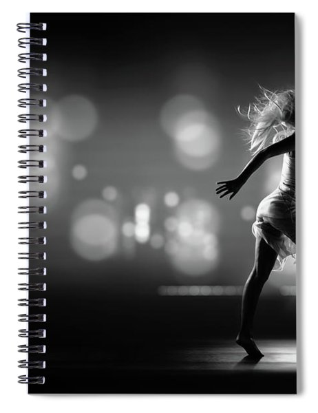 City Girl Spiral Notebook