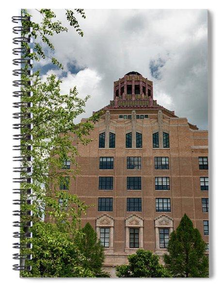 City Hall View Spiral Notebook