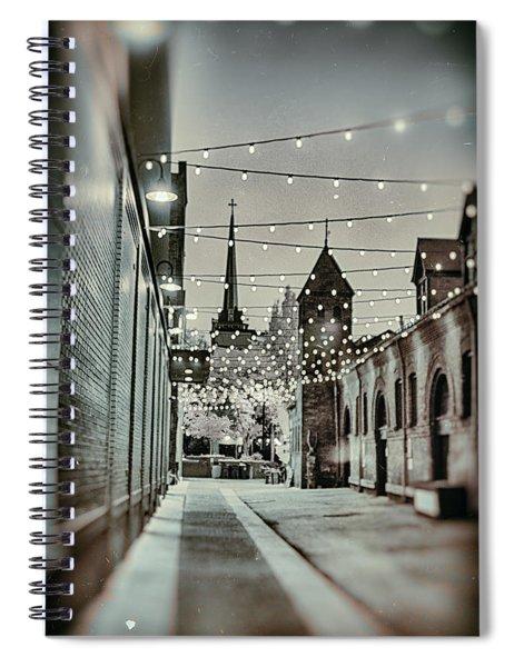 City Lights Spiral Notebook