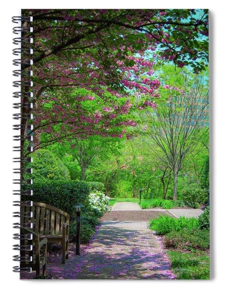 City Oasis Spiral Notebook