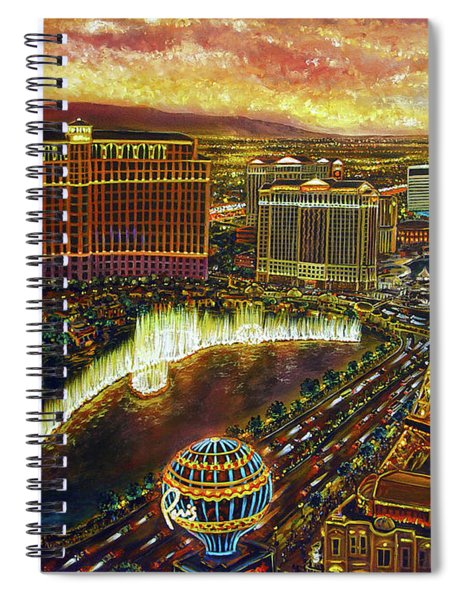 City Of Gold Spiral Notebook