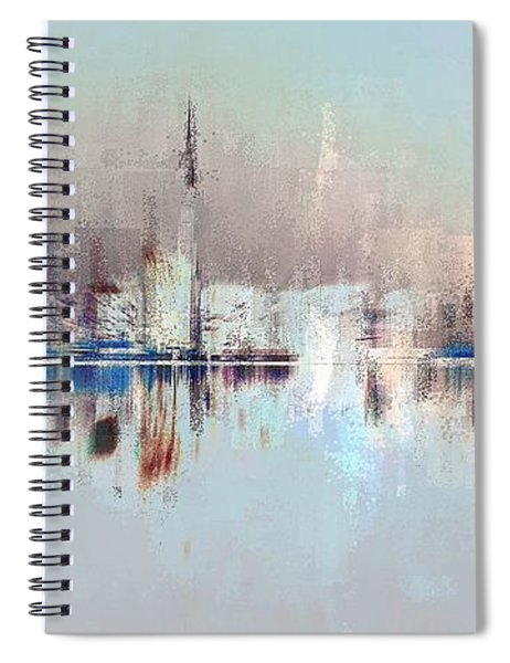City Of Pastels Spiral Notebook
