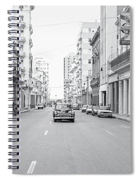 City Street, Havana Spiral Notebook