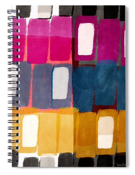 City Windows- Art By Linda Woods Spiral Notebook