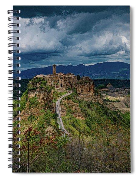 Civita Di Bagnoregio Spiral Notebook