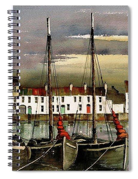 Cladagh Sunset, Galway. Spiral Notebook