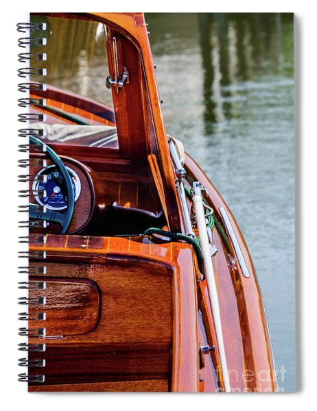 Classic Boat Spiral Notebook