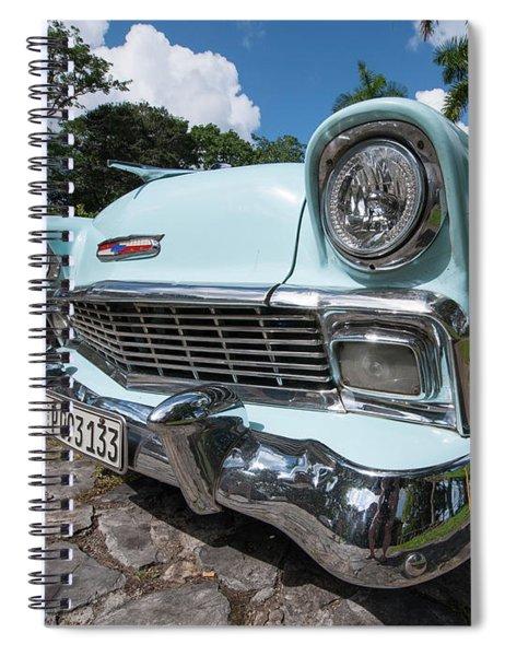 Classic Cuban Chevy Spiral Notebook