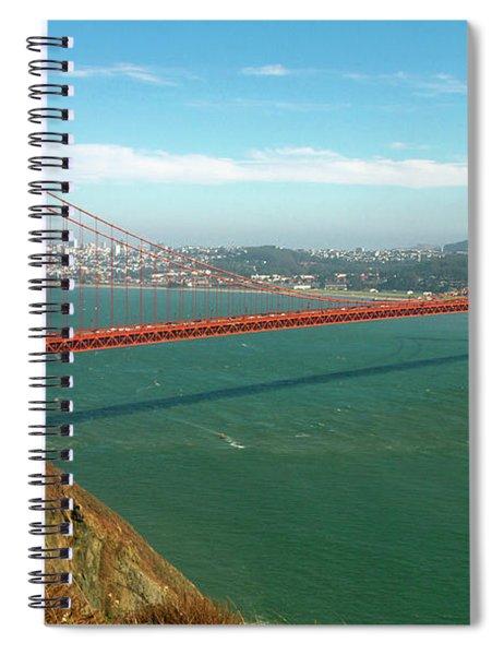 Classic Golden Gate Spiral Notebook