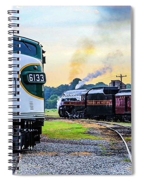 Classic Railroad Power Spiral Notebook