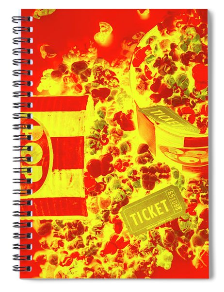 Classic Splashback Spiral Notebook