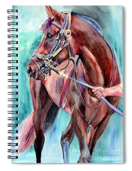 Classical Horse Portrait Spiral Notebook