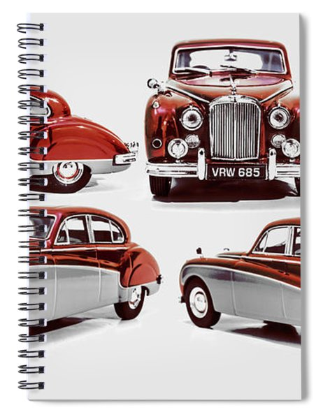 Classically British Spiral Notebook