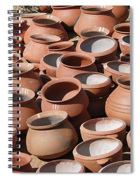 Clay Pots  For Sale In Chatikona  Spiral Notebook