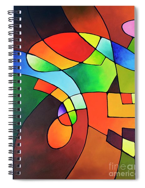 Clear Focus 2, Canvas One Spiral Notebook