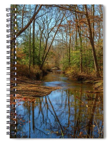 Clear Path Spiral Notebook