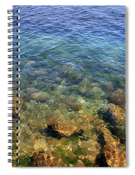 Clear Water At Morro Bay Spiral Notebook